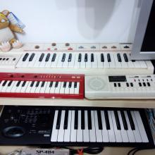 Home-studio: pequeña colección de Casiotones y Korg Micro X