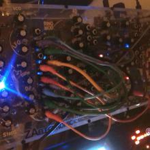 Analog modular synth