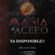 "Loop Brothers ""Magia y acero"" Cartel"