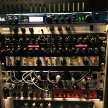 Rack del estudio 2014