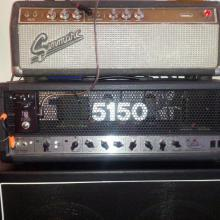 Sinmarc de los 60 (Bassman Blackface) + Peavey 5150