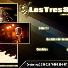 LOS 3 SOLES de Ecuador - Trio musical en Quito