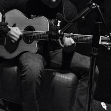 Grabando guitarra!
