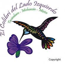 El colibrí del lado izquierdo