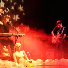 Cajón de Sastre en el teatro de Puebla