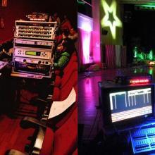Control sonido e iluminación