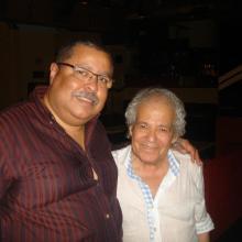Con Jaime Marques en la sala Clamores