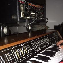 Logan String Piano & Roland Re-501 Chorus Echo