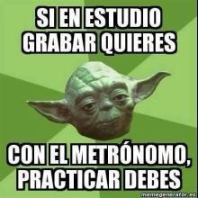 Yoda razón tiene.
