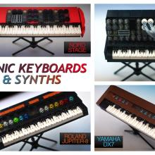 Lego Vintage Synthesizers