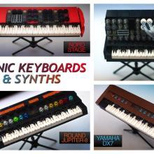 Lego Vintage Synthesizers