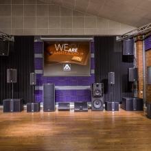 Amate Audio sala de demos