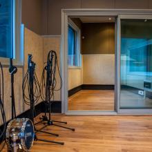 Recording room A - Casafont Studio