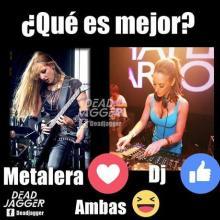 METAL VS DJ