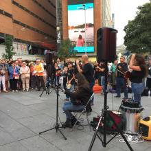 Concierto de A Pintega Marella, Plaza del Callao 17 Septiembre 2016