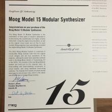 Certificado MOOG 15