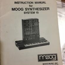 MOOG 15 Users VINTAGE