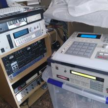 Akai mpc 3000  and s3000