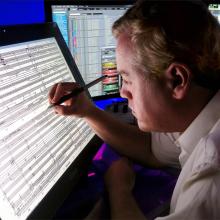 Tablet escribir música