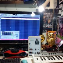 the mika king home studio