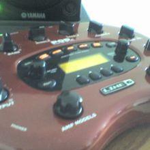 Procesador de Guitarra Line6 PODxt