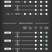 Audient routing
