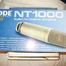Micrófono de condensador Rode NT 1000