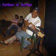 Yo Polacho Soto Recording Bass Guitar