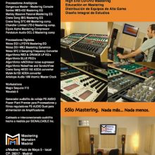 Mastering Mansion Madrid - Nuestro Estudio