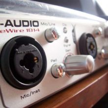 m-audio FW1814