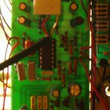La parte eletronica del modulo