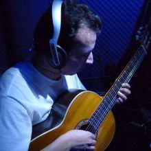 """Carlos Cortes Grabando """"Producciones Charly"""""""