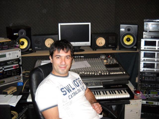 En el estudio de Juaniblus - dic 2009