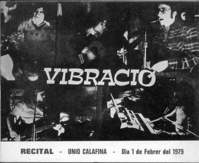 Concierto vibracio1975 en Calaf