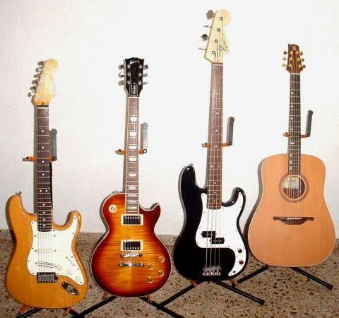 Guitarras (y bajo)