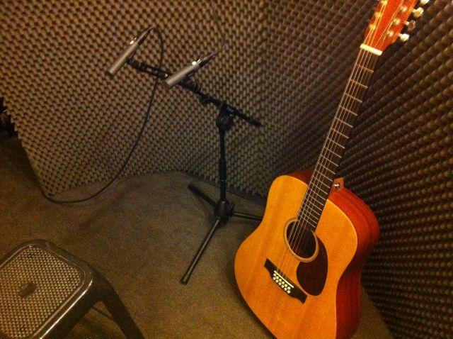 Grabación guitarra acústica