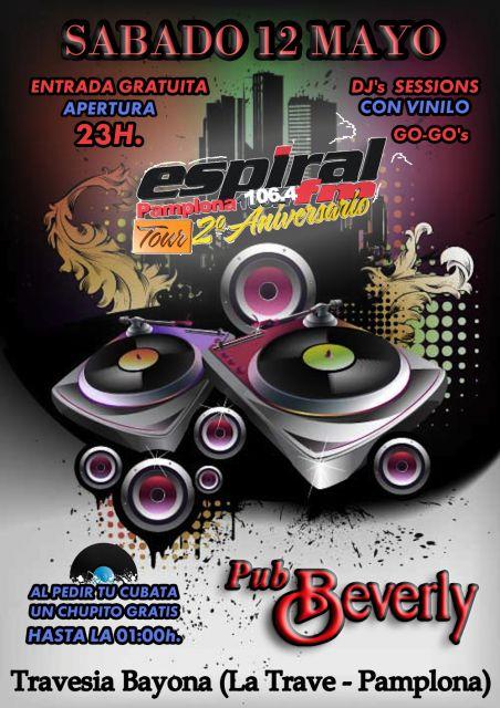 Tour 2º Aniversario Espiral Fm Pamplona @ Pub beverly (Pamplona)
