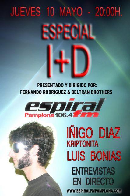 Especial I+D en ESPIRAL FM Pamplona