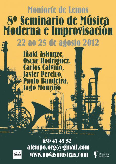 8º Seminario de Música Moderna e Improvisación 2012