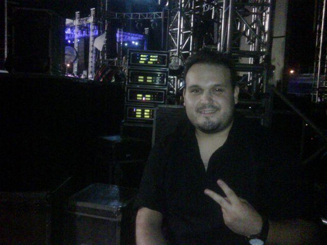 on backstage