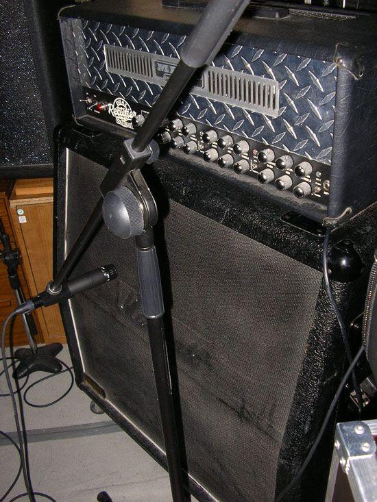 Grabando Guitarras 3
