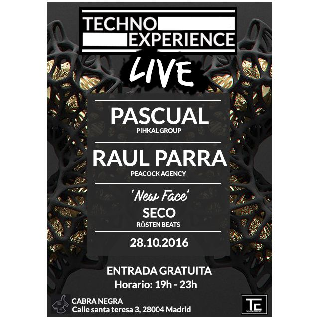 Cartel Techno experience Live