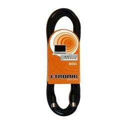 L-Tronik L-TRONIK cables CMIDI 5M