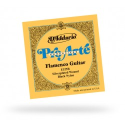 D'Addario EJ25B Composites Flamenco Black Nylon