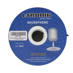 L-Tronik L-TRONIK cables BOBINA MICROFONO QUAD (NEGRO)
