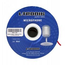 L-Tronik L-TRONIK cables BOBINA MICROFONO QUAD (ROJO)