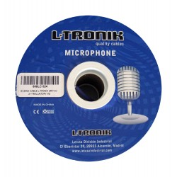 L-Tronik L-TRONIK cables BOBINA MICROFONO QUAD (VIOLETA)