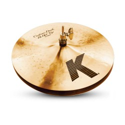 "Zildjian 13""K-Custom Dark Hi-Hat"
