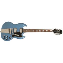 Epiphone Ltd. Ed. TV Pelham Blue SG Custom w/Maestro