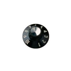 Fender Juego de Botones Amplificadores  Black/Silver
